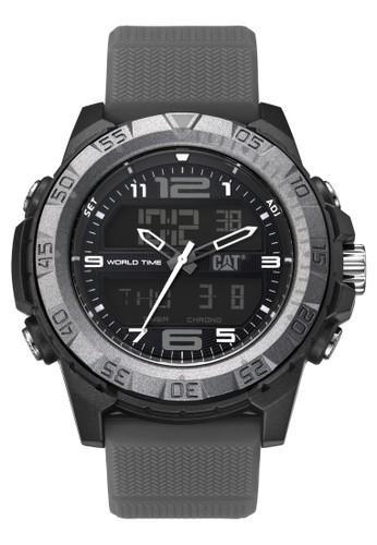 Caterpillar grey Sporty Men's Watches CAT MC.155.25.135 22F88ACC2BCA2CGS_1