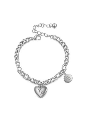 CELOVIS silver CELOVIS - Zodiac Sign Bracelet in Silver A171AACA95D409GS_1