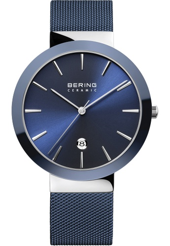 Bering blue Bering Ceramic 11440-387 40 mm Women's Watch E83F4AC621684BGS_1