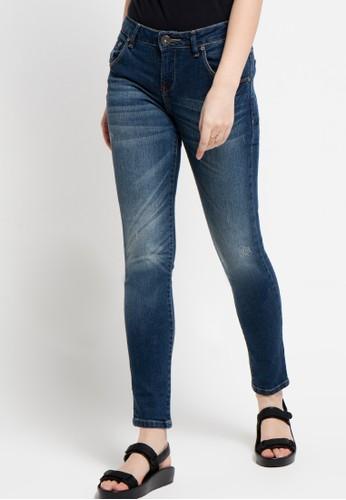DocDenim blue Ladies Jeans Carey Super Slim Fit DO336AA29LPUID_1