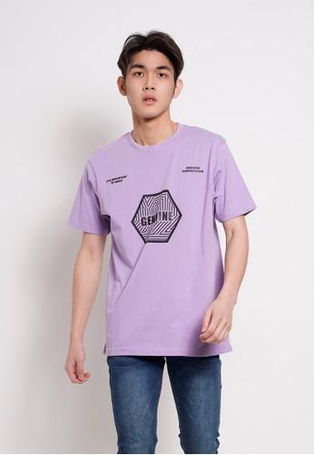 Hi Style Graphic Short Sleeve T-Shirt D7423AAF70EF1CGS_1