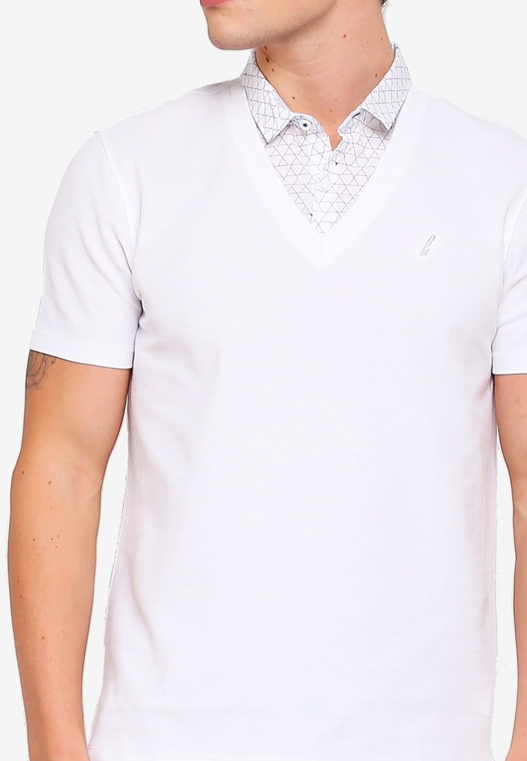 G2000 2 In White Collar 1 Shirt Polo xqW67Xgwrq
