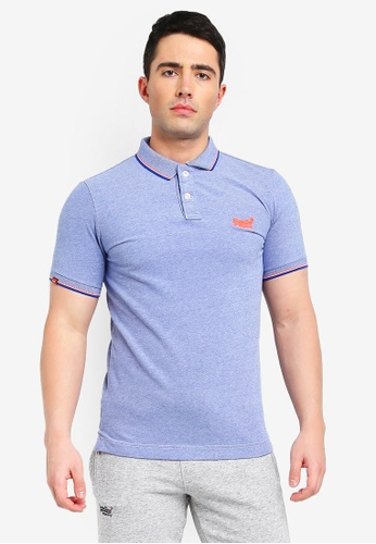 7474ccfaac07 Buy Superdry Classic Poolside Pique Polo | ZALORA HK