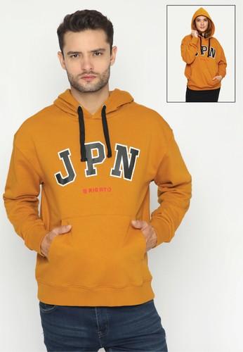 Rigato yellow Hoodie Oversize JPN 529D6AA7DCBA76GS_1