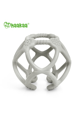 Haakaa Haakaa Silicone Teething Ball - Suva Grey 57674ES676C8FDGS_1
