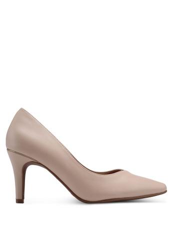 Bata beige Pointed Toe Heels 0F199SH5EF207DGS_1