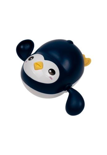 IQAngel IQANGEL PENGUIN WATER TOYS Dark Blue / Mainan Mandi Bayi / Mainan Air Bayi  Pinguin Berenang / Mainan Kolam Renang Anak 94F33THABDEEFCGS_1