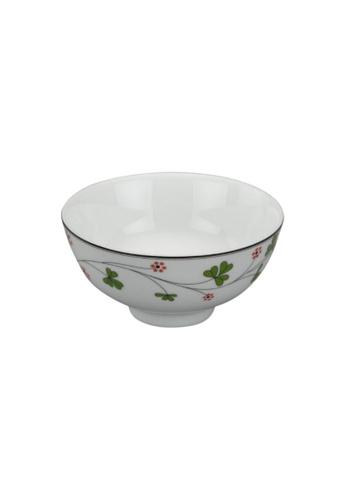 Minh Long I white Jasmine: Porcelain Rice Bowl (11.5cm) 047A4HLEFD9A89GS_1