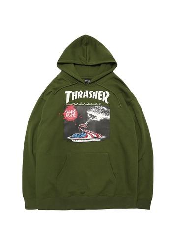 THRASHER multi Thrasher Eat The Flag Hooded 1B5DAAA2484DBEGS_1
