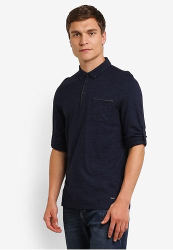 Boss Orange blue Patcherman 1 Polo Shirt BO434AA0RPQPMY_1