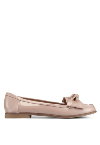 Dorothy Perkins pink Nude Leena Loafers 9C1E9SHFC537ABGS_1