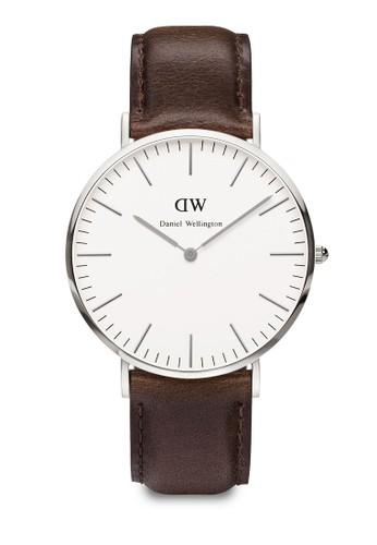 Classic Bristol-Watch Silveesprit twr 40mm, 錶類, 皮革錶帶