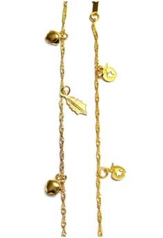 Clique Fashion Bundle Gold Sexy Ankle and Bracelet Summer Sale