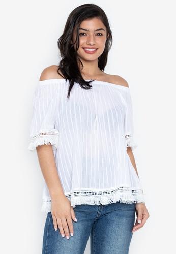 4e65581cea00 Shop Chictees Ellie Blouse Online on ZALORA Philippines
