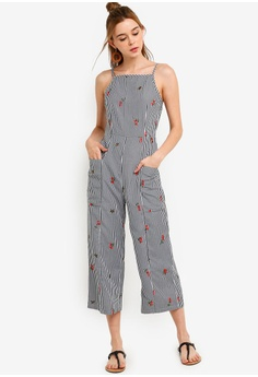 54fe13c679 25% OFF Something Borrowed Cami Culottes Jumpsuit S$ 39.90 NOW S$ 29.90  Sizes XS S M L XL