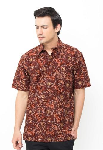 Batik Indra Loka Short Sleeve Manarola