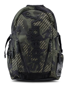 514f393ac25e Superdry green Camo Logo Tarp Backpack 2BFCCAC90BFE66GS 1