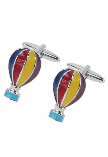 CUFF IT multi Hot Air Balloon Cufflinks A1031AC497E2EEGS_1