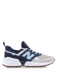 new style bd6ab f8d8e New Balance navy 574 Sport Lifestyle Shoes 58020SH9B6B697GS 1
