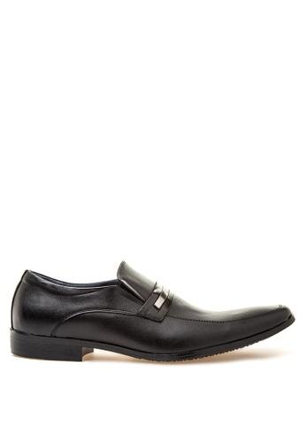 Brogue & Derby black Drake Formal Shoes BR611SH49QKKPH_1
