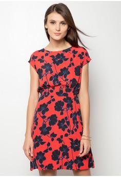 Ladies' Timmy Floral Tea Dress 8