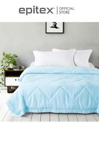 Epitex blue Epitex Eco Silk Quilt - Blanket MB3508 (Lake Blue) AACB3HL3A71AA3GS_1