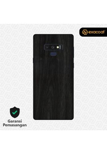 Exacoat Galaxy Note 9 Skins Wood Ebony - Cut Only 658C1ES01CA9EDGS_1