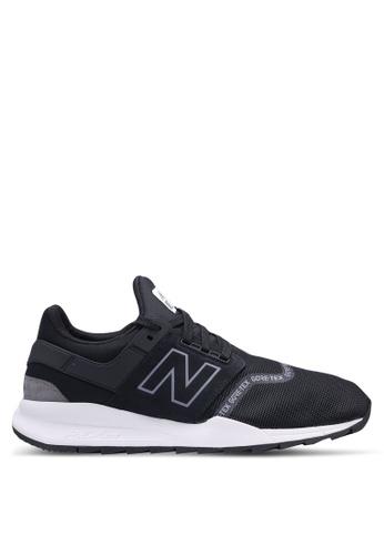 New Balance black 247 Lifestyle Goretex Shoes 9B89FSH23B4353GS_1