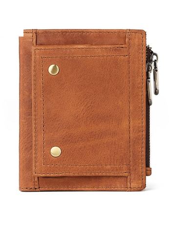 Twenty Eight Shoes Vintage Genuine Leather RFID Security Multifunctional Wallet BP913 A80E5AC3A36DF9GS_1