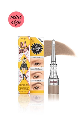 Benefit brown Ka-BROW! Eyebrow Cream-Gel Color Mini - Shade 02 (Light) 32680BEF5F277DGS_1