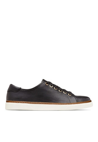 Vionic black Leah Casual Sneakers 52EB8SH015C3F4GS_1