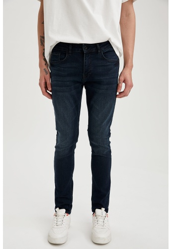 DeFacto blue Skinny Jeans 1A764AA4937666GS_1