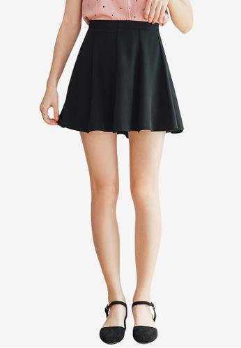 Tokichoi black Plain Skater Skirt 6B274AA426DAE3GS_1