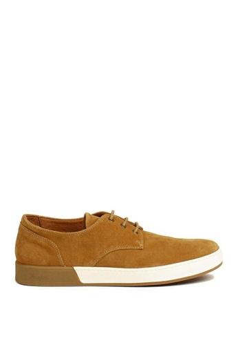 Aigle brown Lonriver Low Sneakers CFB86SH2B7A669GS_1