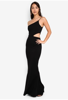 d67bf6d0cb 21% OFF MISSGUIDED Cut Out Waist One Shoulder Maxi Dress S$ 77.90 NOW S$  61.90 Sizes 6 8 10 12 14