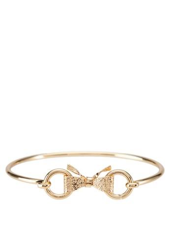 蝴蝶結雙環手環, 飾品配zalora鞋件, 其他