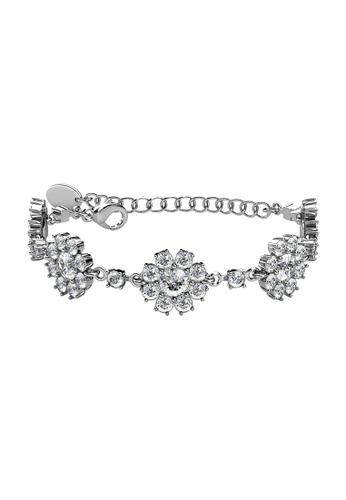 Her Jewellery silver LUVEA - Forever Daisy Bracelet (White Gold) by Her Jewellery CFE50AC063EC00GS_1