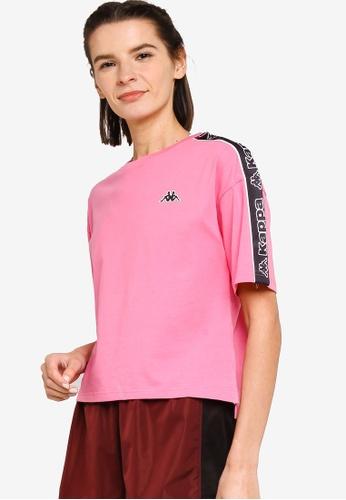 Kappa pink Kappa Sport Tee B8B94AAF64E3FDGS_1