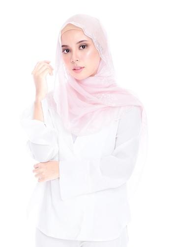 Ava Moony pink Azalea Scarf 7CF0FAA66278C5GS_1