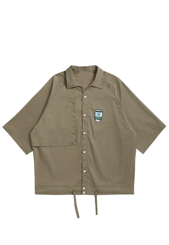 Twenty Eight Shoes Loose Casual Short Sleeve Shirt 2278S21 25479AA5E9376DGS_1