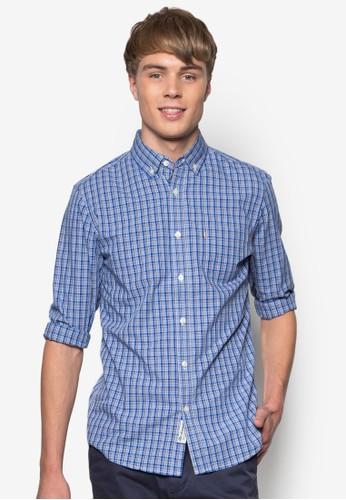 Laesprit 評價wson 格紋長袖襯衫, 服飾, 襯衫