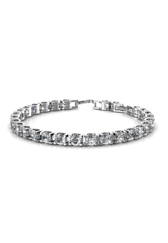 Her Jewellery silver Her Jewellery Caring Bracelet (White Gold) with Premium Grade Crystals from Austria HE210AC56JPRSG_1