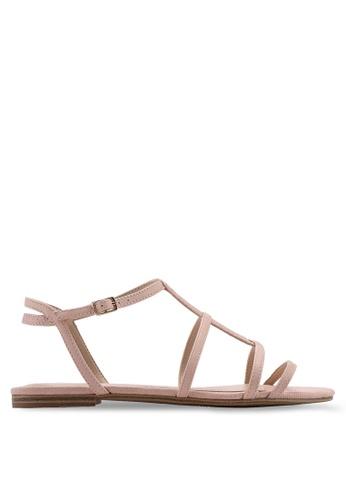 ALDO 粉紅色 休閒涼鞋 814BDSH2C6903BGS_1