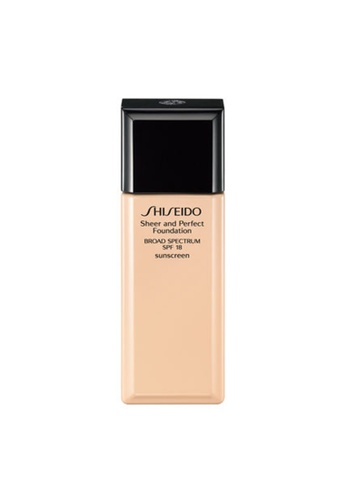 Shiseido beige Sheer and Perfect Foundation 060 30ML (Refill Only) AAA11BED77A64BGS_1