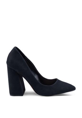 Call It Spring black Yara Pointed Block Heels 69C2FSH8DF1AA5GS_1