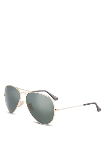 05d40a32455712 Buy Ray-Ban Aviator Large Metal RB3025 Sunglasses Online on ZALORA Singapore