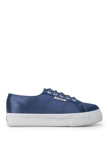 Superga blue Superga 2730 Satin Blue Navy 48336SHB3E5A54GS_1