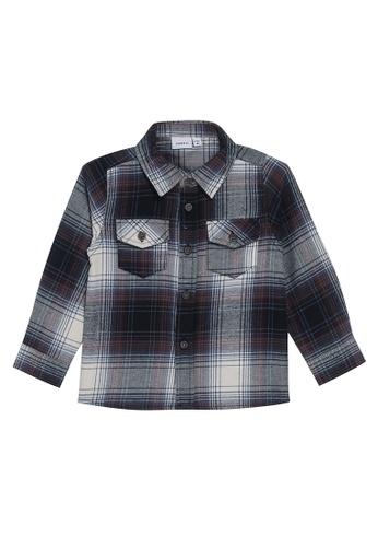 NAME IT blue Omok Long Sleeves Shirt 911C4KA498420BGS_1