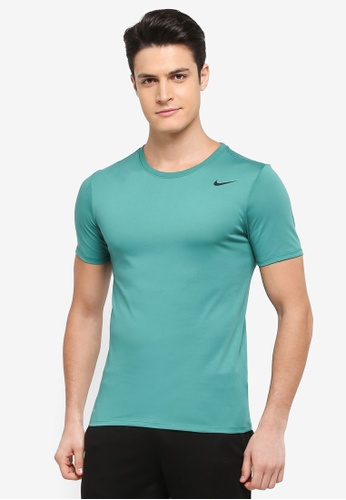 Nike black and green Men's Nike Dry Training T-Shirt CC41FAA0BA4E3FGS_1