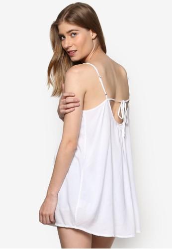 Kalari 細肩帶沙灘esprit地址風連身裙, 服飾, 服飾
